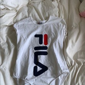 One peice fila top